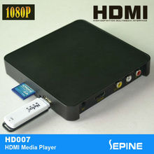 5v 1080p portable hdmi hard disk media player