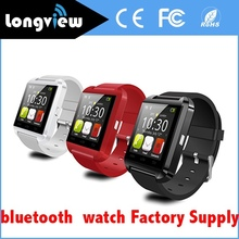 2016 Latest Model 1.48 Inch Touch screen LCD/LED u8 bluetooth smart watch