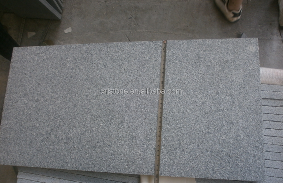 G654 chinese granite sincere flamed surface