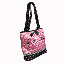 Custom printing promotion tote bag pink color shopping bag