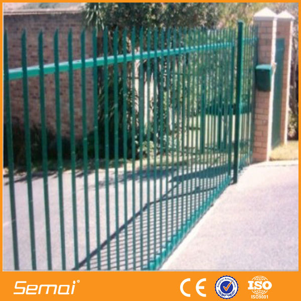 China Palisade Fence Panels/Cheap Fence Panels (ISO9001:2008)