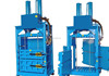 waste carton paper ,plastic pet Bottle Baler Machine / hydraulic full automatic baler press