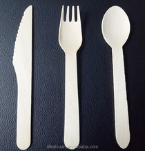 hot sale Wooden disposable cutlery/Spoon /Fork /Knife