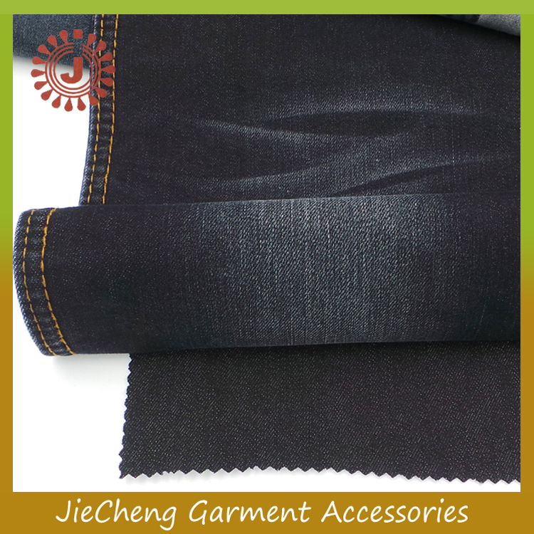 100% Cotton Material and Make to Order China Supply Type Denim Fabric strong hemp jeans fabric
