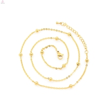 Different types of necklace chains jewelry,artificial gold long chain imitation necklace,gold chains dubai