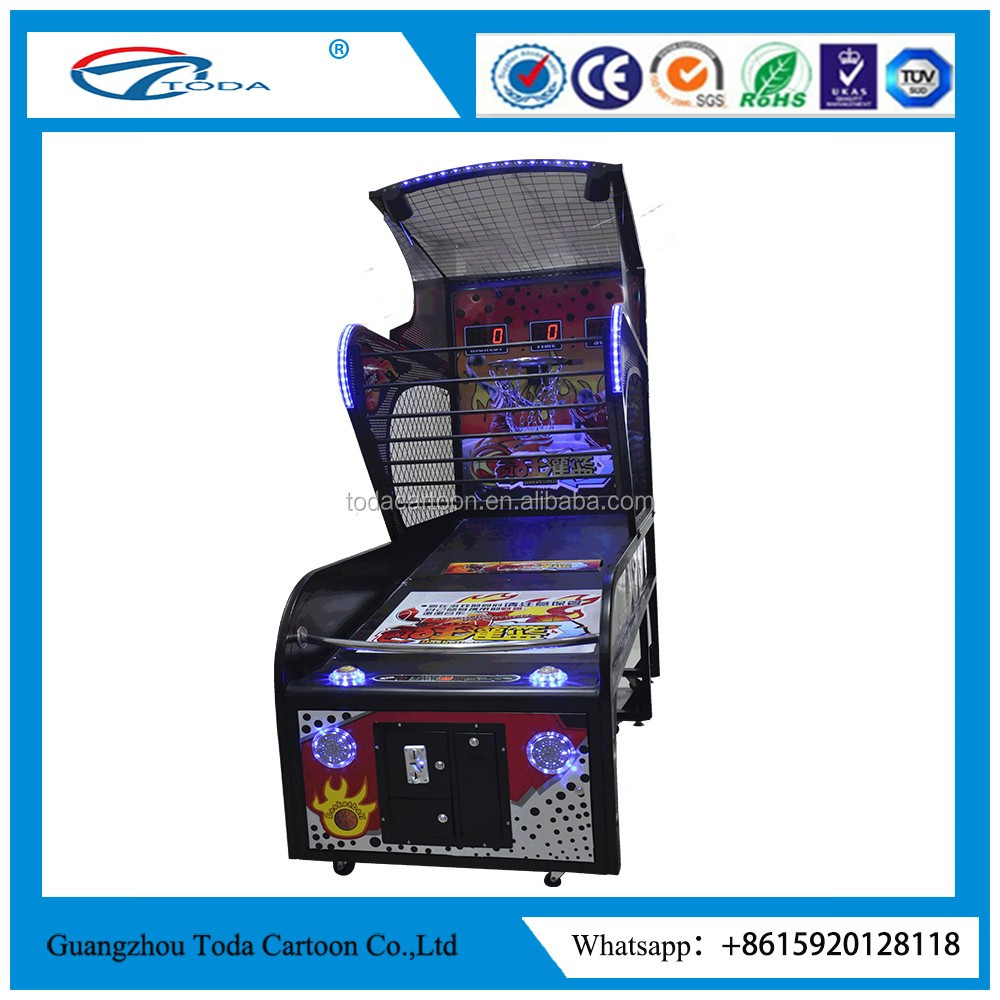 Newest coin operated indoor basketball game machine taito vewlix-l cabinet game for kids basketball game machine for sale