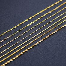 Gold Plated Stainless Steel Pendant Necklace Chain