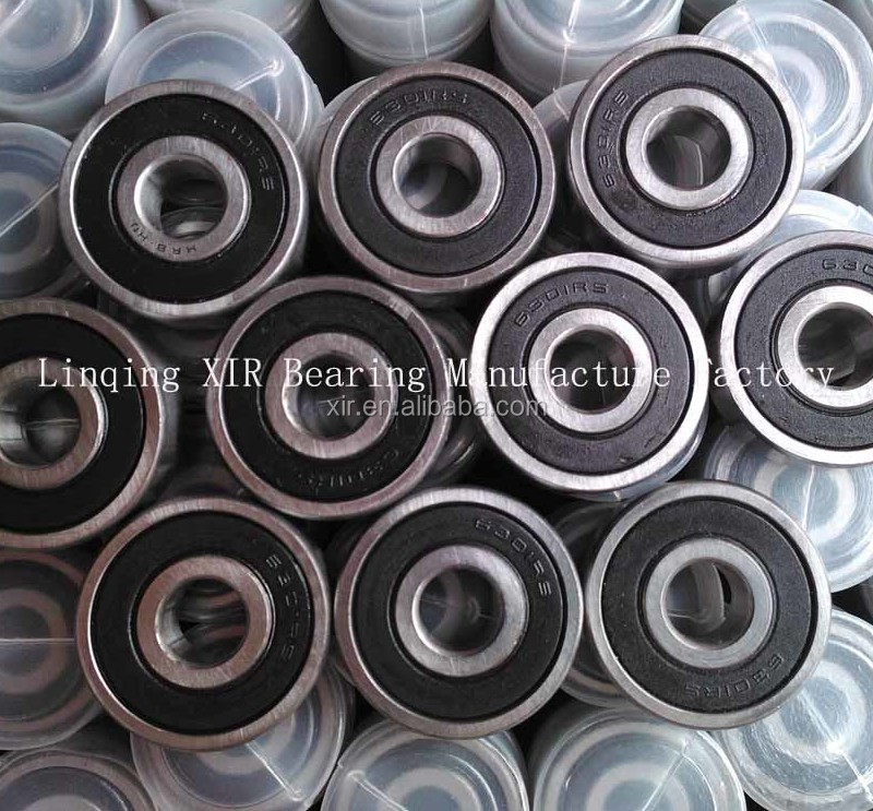 High quality OEM deep groove ball bearing 6301-2RS chrome steel bearing ABEC-1