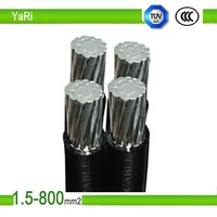Low voltage twisted aluminium core xlpe insulation abc cable