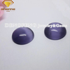 Synthetic Oval Cut Flat Back Glass Cat Eye Stone