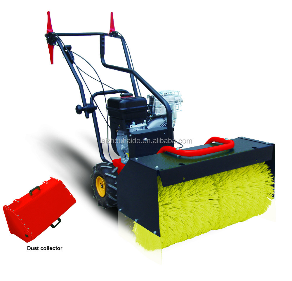 walk behind road sweeper HS600A cleaning dust equipment