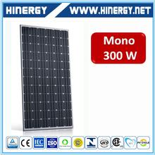 Top Quality Cheapest Price 300w monocrystalline solar power panels For home use