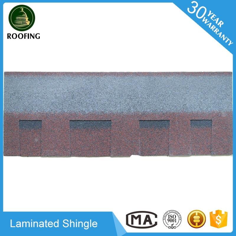 Professional Laminated building construction material,asphalt roofing shingle with great price