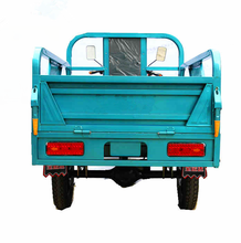 48V 1000W China heavy duty tipper cargo tricycles on sale for adults