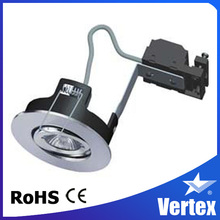 Newest twist&lock gx5.3 downlight for quick replacment,CE ROHS,SAA
