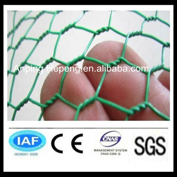 pvc coated hexagonal wire netting gabion