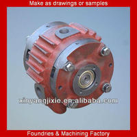 Machined as drawing or sample Plate rotary milk vacuum pump in mechanical parts&fabrication services