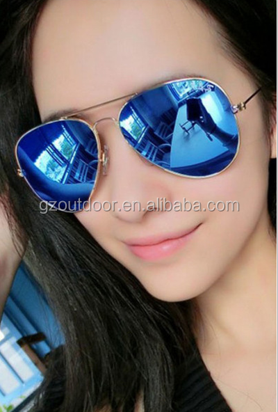 fashionable polarized young girls AC sunglasses, outdoor anti-uv ladies retro goggles,eyewear protect women sun shades