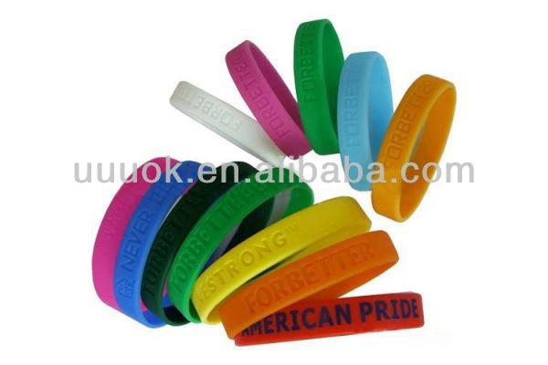 Wholesale Silicone Rubber Bracelet