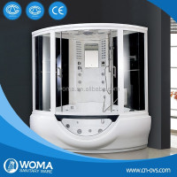 Sower steam room with massage steam room with massage bathtub