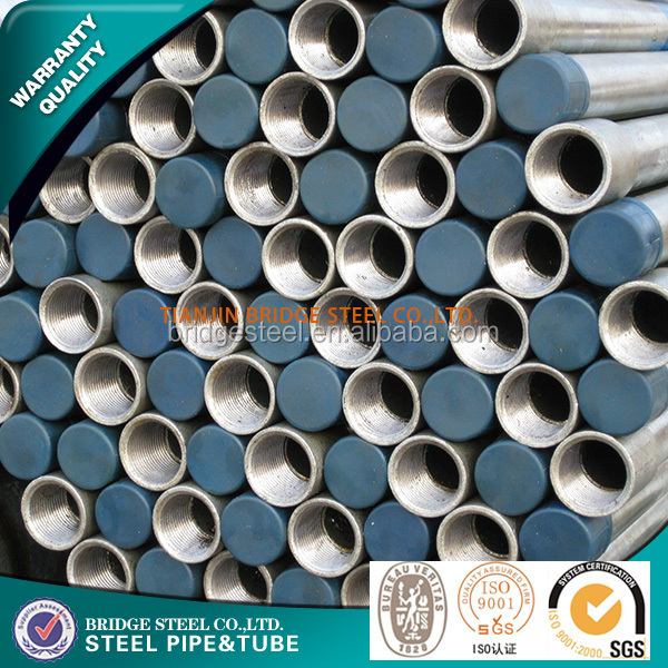 2016 China manufacture large diameter galvanized welded steel pipe