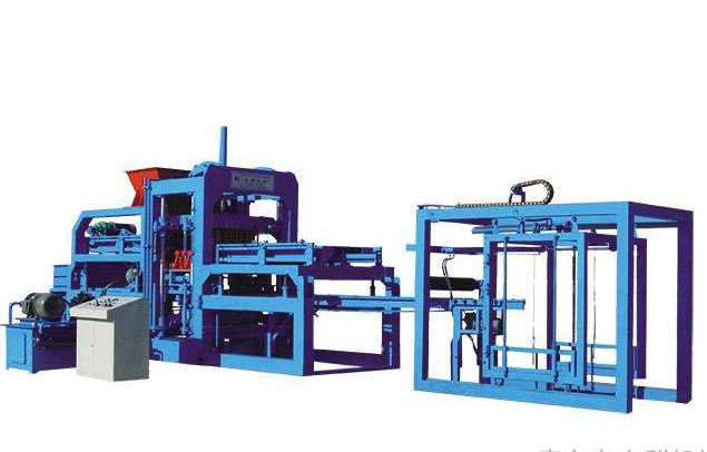 easy operation low price concrete block crushing machine, concrete block auto machine,conrete block making machine line