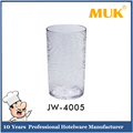 MUK hot sale hotel restaurant cheap clear watermark round base tumblers