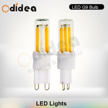 Filament edison AC230V dimmable led light g9