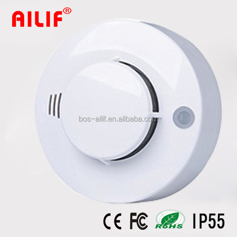 Fire Alarm Independent Battery Operated Smoke Detector