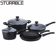 Non stick Caldero with Bakelite Soft Handle Cookware Kitchenware Set as Seen on TV