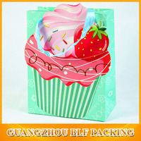 (BLF-PB821)Strawberry gift paper bag