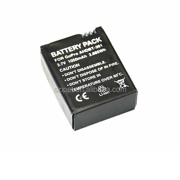 battery for gopro hero 3 3 1050mah go pro accessories buy battery for gopro gopro 3 battery. Black Bedroom Furniture Sets. Home Design Ideas