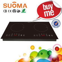 2 burner electric stove top/electric stove/double burner induction cooker