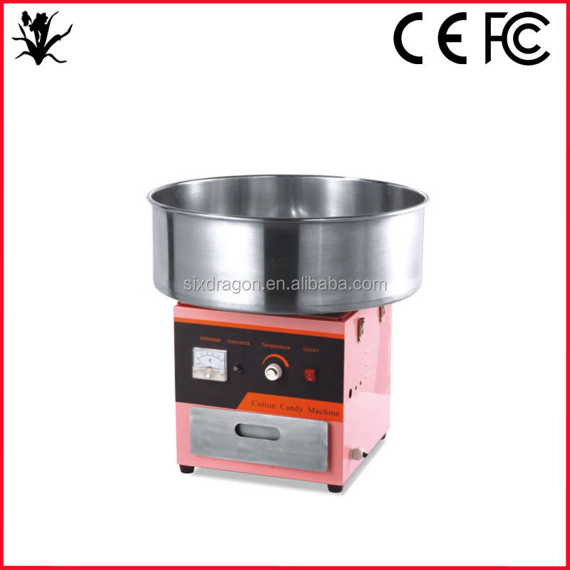 Promotional 110v / 220v Commercial Cotton Candy Machine for Sale