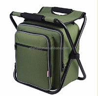 600D polyester fishing chair insulated picnic cooler bag