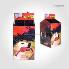 Custom corrugated pallet pet toy retail dump bins display