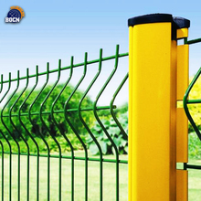 high security powder coated 3D fence panel Curved Wire mesh netting