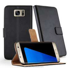 Wallet leather card slot mobile leather phone case cover for Samsung Galaxy S7 Edge