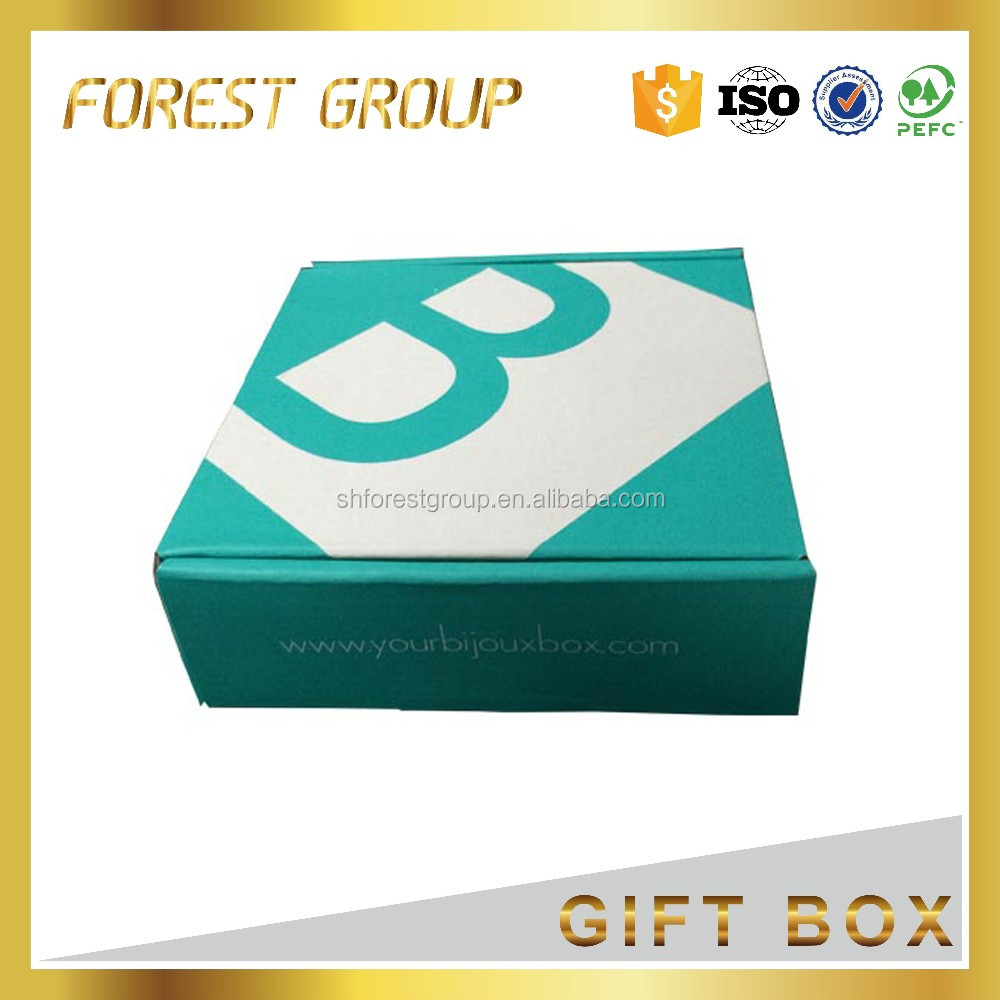 FACTORY MADE OUTER CARTON SIZE SHOE BOX PACKAGING COLOR PAPER BOX