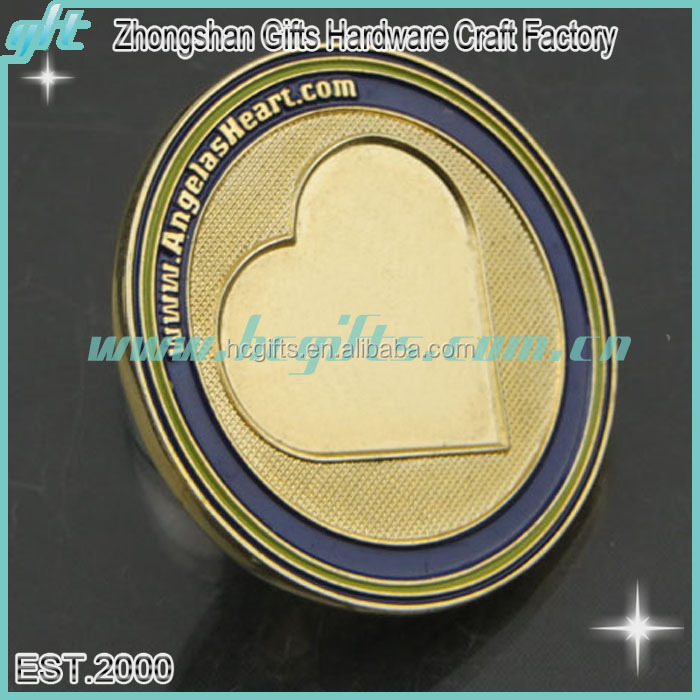 To Quality Custom Awards & Corporate Gifts Die Struck Two Sided 2 Dimensional Challenge Coin