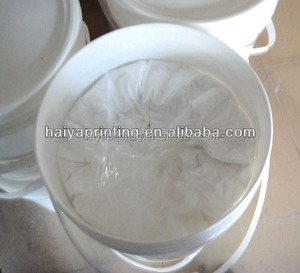Nylon Fabric Waterbased Flexible Rubber Paste
