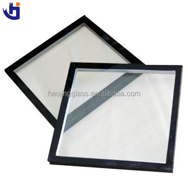 Double Pane Heat Insulated Glass Safety Building Glass With Dry Air Insert