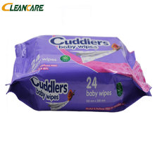 Nice Quality Flushable Alcohol-Free Portable Popular Small Package Baby Wet Wipes Made In China