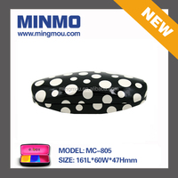 Polka dots pattern fashion hot sell 2015 new products,clamshell glasses case,personalized glasses case