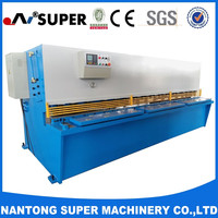 Hydraulic Metal Press QC12Y-16*3200 Hydraulic Swing Beam Cutting Shears Machine Cutting Dies