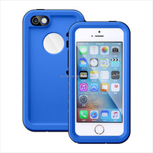 Hot sale IP68 Certified waterproof durable slim fit Full Body Case for iPhone 5 5S SE