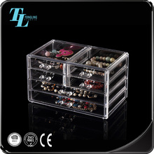 Top supplier clear acrylic display storage jewelry box with best price