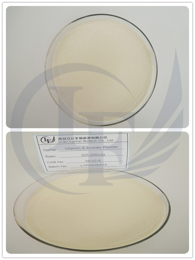 Lyphar Manufactory ISO Certification Best Price Vitamin A Acetate