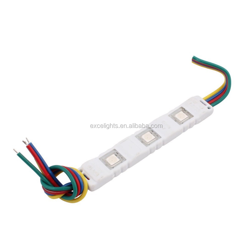 China factory CE RoHS certificate LED 5050 RGB Injection Module
