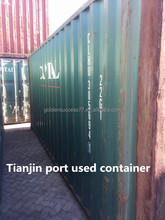 Tianjin Dry cargo used 20ft 40ft shipping container for sale